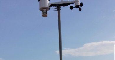 Nuova stazione meteo installata!