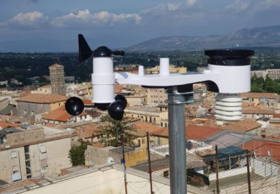 Installata nuova stazione meteo nel centro storico di velletri!