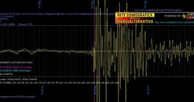Terremoto – Lieve scossa stamane ai Castelli Romani!
