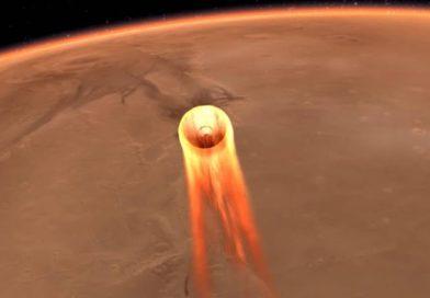 Live – Atterraggio della sonda InSight sul pianeta Marte.