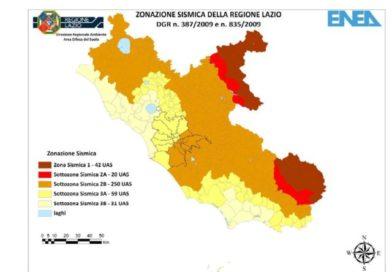 Mappa – Rischio Sismico dei Castelli Romani e di tutta la Regione Lazio!