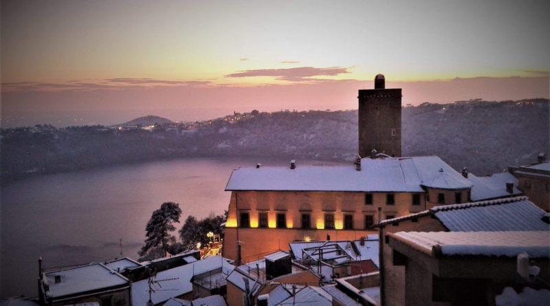 Foto – Scatti Fantastici della Nevicata dello Scorso anno su Roma e i Castelli Romani!