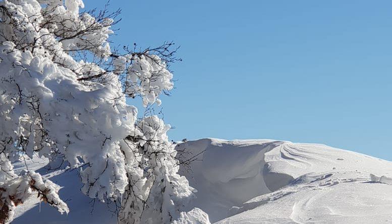 Foto – Panorama Fantastico stamane sul Monte Semprevisa, La vetta più alta dei Monti Lepini!
