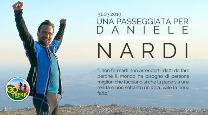 passeggiata per Daniele Nardi