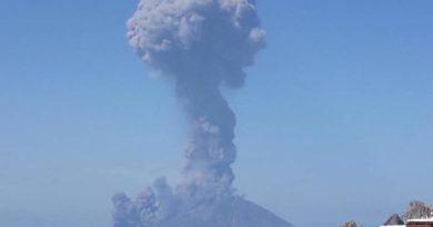 Eruzione Stromboli, la situazione di stamane!