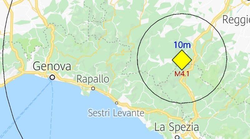 Terremoto: forte scossa vicino Parma!