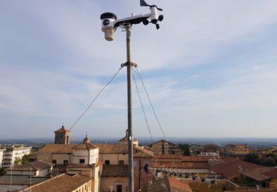 Sostituta la stazione meteo di Velletri san clemente!