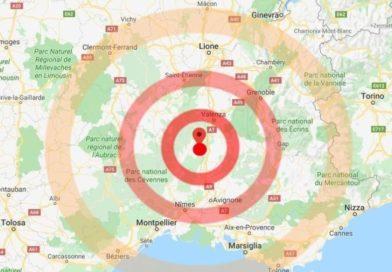 Forte Terremoto di magnitudo 5.0 scuote il sud della francia!