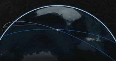 Starlink: una fila di satelliti dall'aspetto alieno